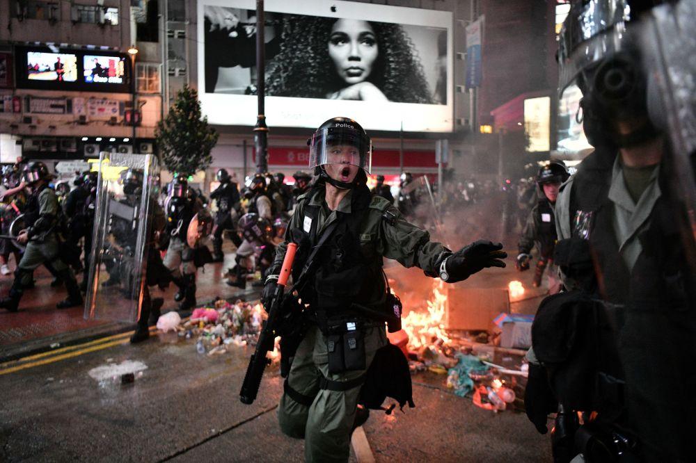Le proteste ad Hong Kong.
