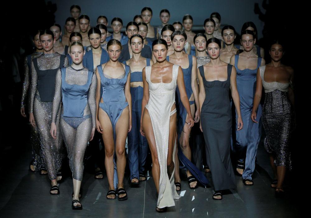 Il fashion week ucraino a Kiev.