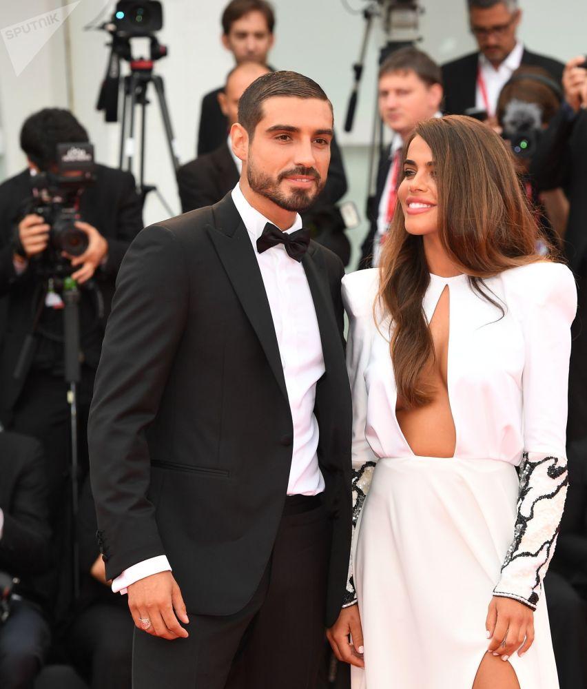 Violetta Mangrinan e Fabio Colloricchio.