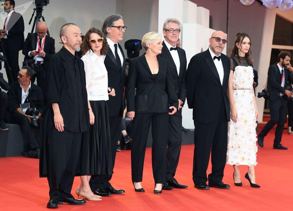 La giuria della 76esima Mostra Internazionale d'arte cinematografica di Venezia.