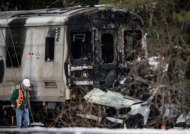 Incidente treno in America