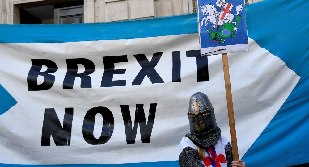 Manifestazione per la Brexit a Londra