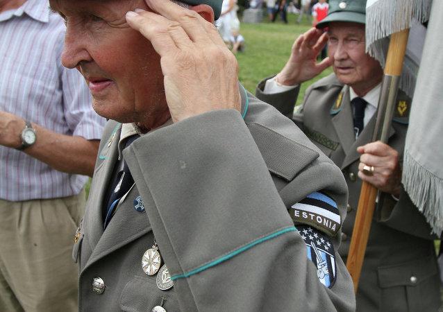 Raduno di ex combattenti SS in Estonia (foto d'archivio)