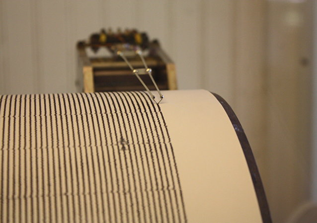 Sismografo per terremoto