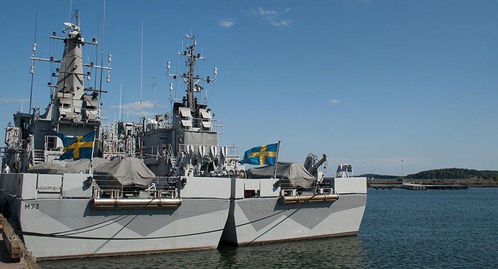 Navi della Marina militare svedese (foto d'archivio)