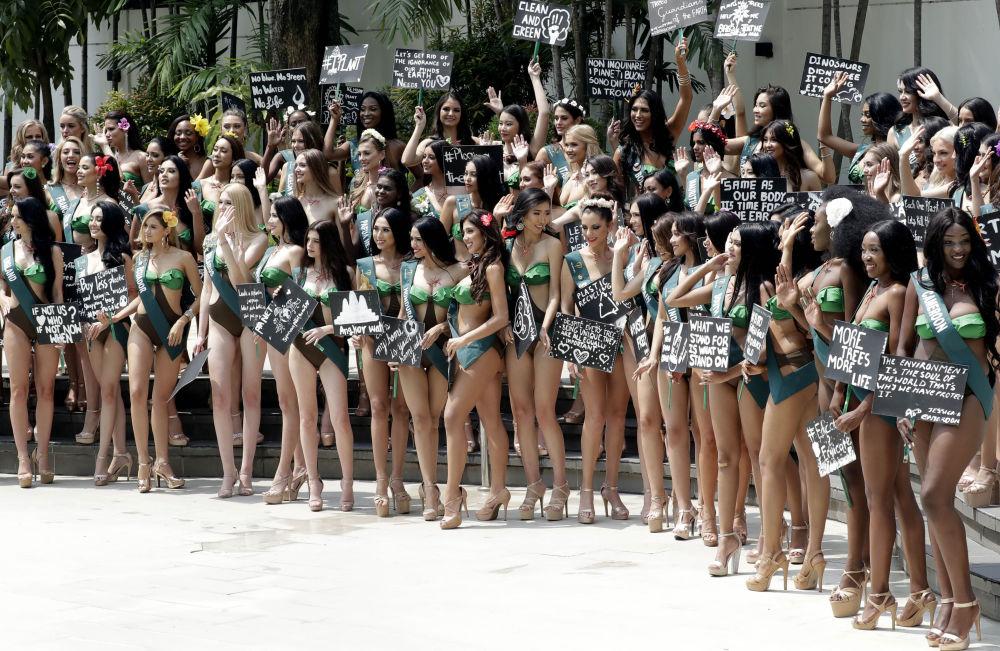 """Il concorso internazionale Miss Earth è il più """"giovane"""" tra i concorsi di bellezza."""