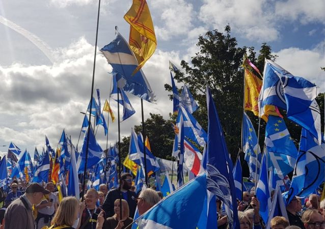 Bandiere nazionali scozzesi