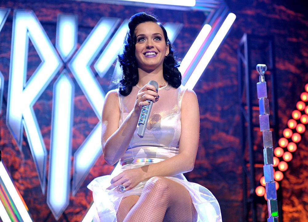 La cantante americana Katy Perry