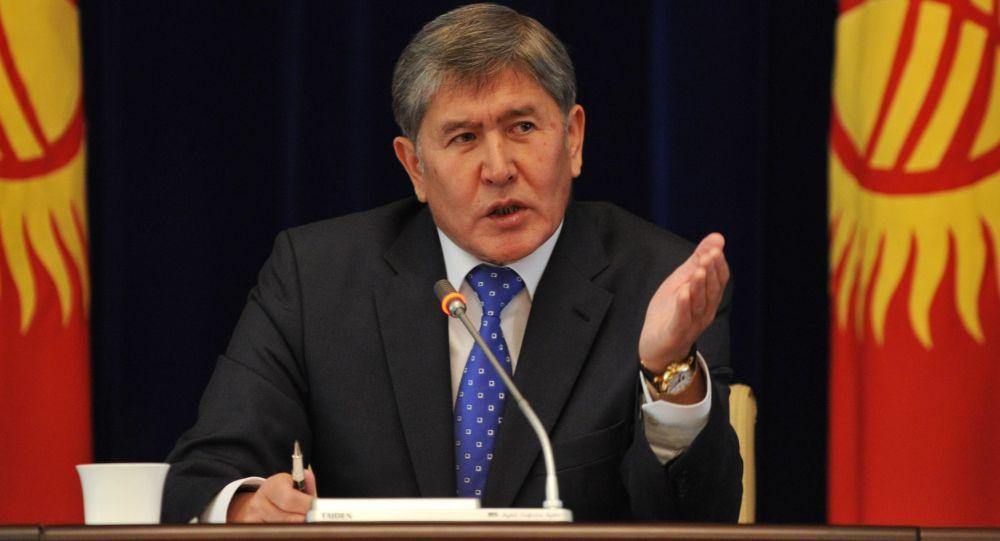 Presidente del Kirghizistan Almazbek Atambayev