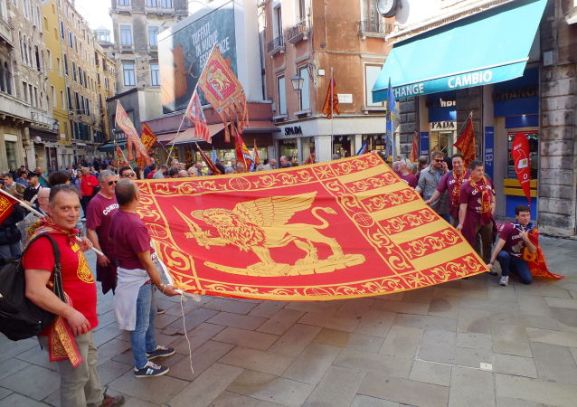 Manifestazione del 22 ottobre a Venezia