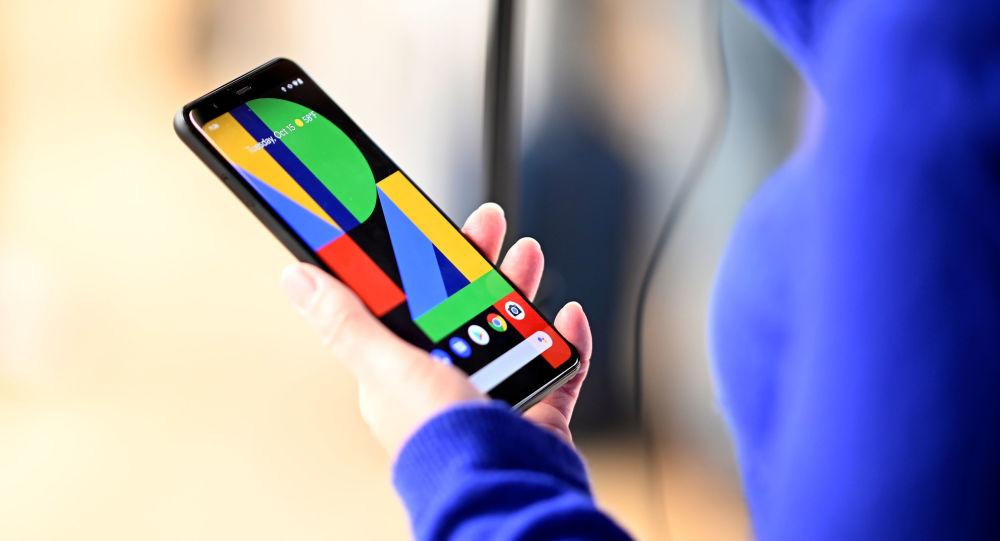 Google Pixel 4 smartphone