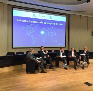 La presentazione del rapporto Le imprese lombarde nelle catene globali del valore