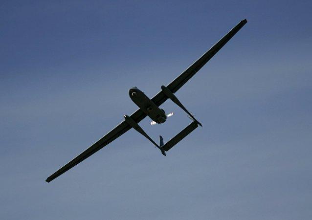 Il drone Heron TP delle forze di difesa israeliane