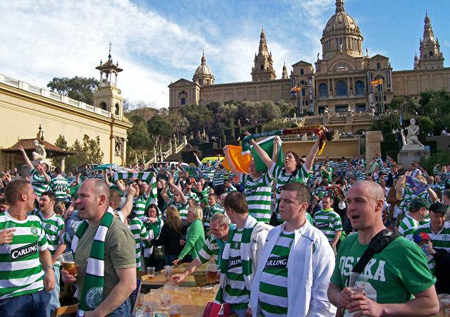 Tifosi del Celtic in trasferta