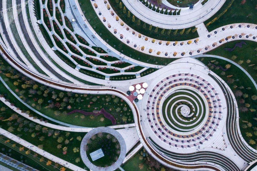 Il parco nella città russa di Krasnodar, vincitore degli Urban Parks Awards