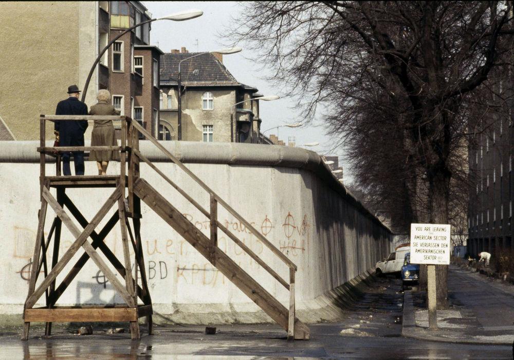Muro di Berlino negli anni '80