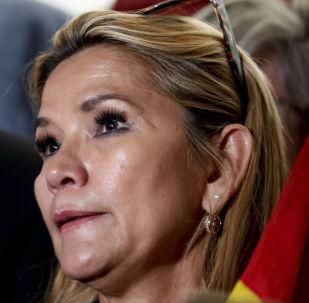 Il senatore boliviano Jeanine Añez