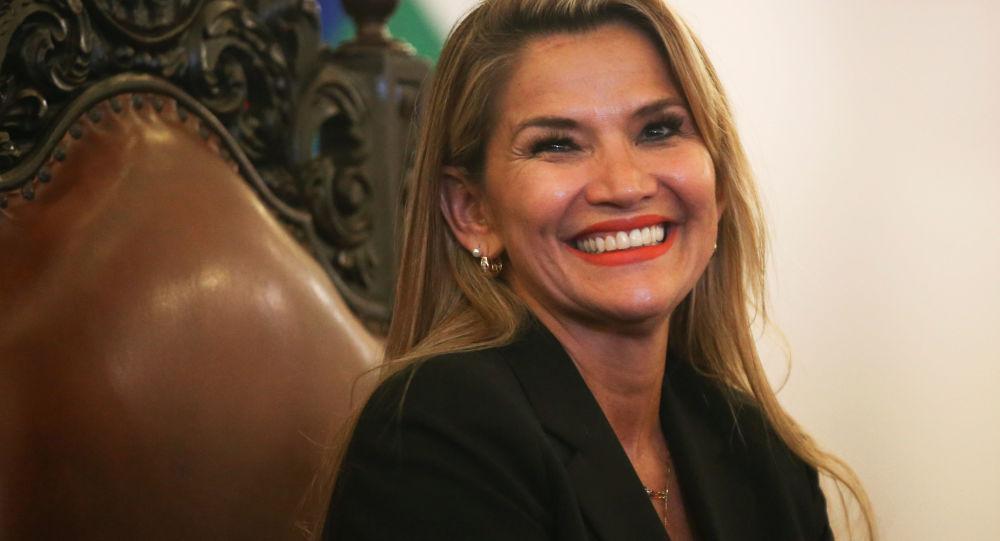 Presidente boliviana ad interim Jeanine Anez