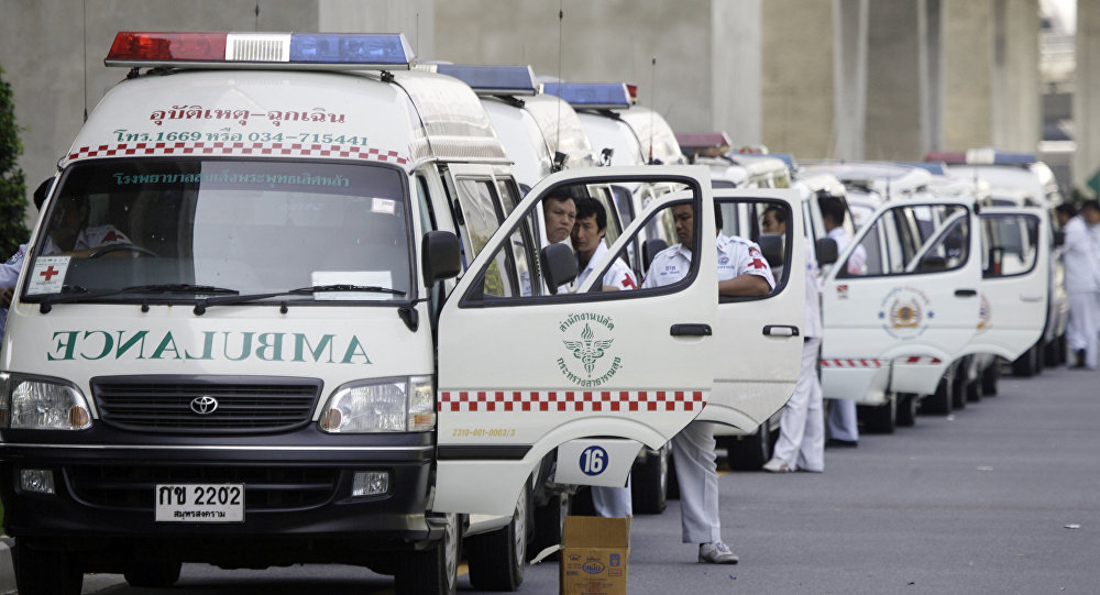 Ambulanze in Thailandia