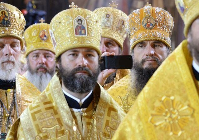 Funzione religiosa per celebrare conversione al cristianesimo