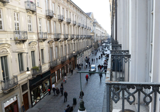Una via a Torino