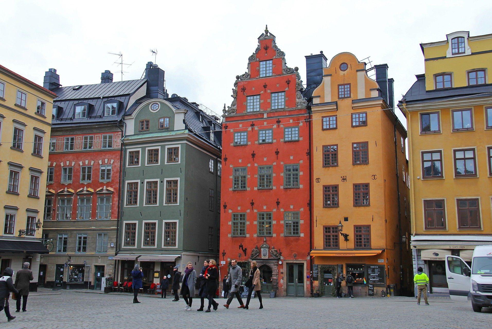 Gamla Stan, a Stoccolma, in Svezia