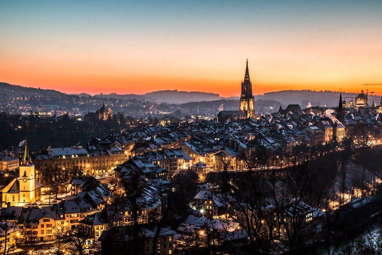 Una magnifica veduta di Berna