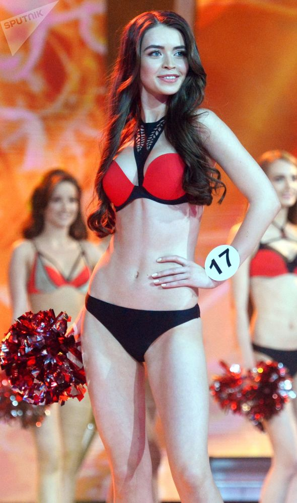 Maria Vasilevich al concorso Miss Bielorussia-2018