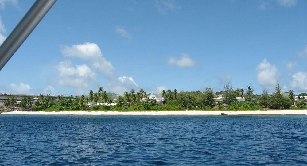 Veduta di Nauru