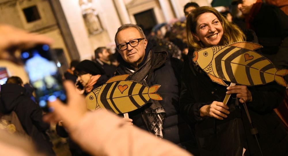 Le proteste delle Sardine