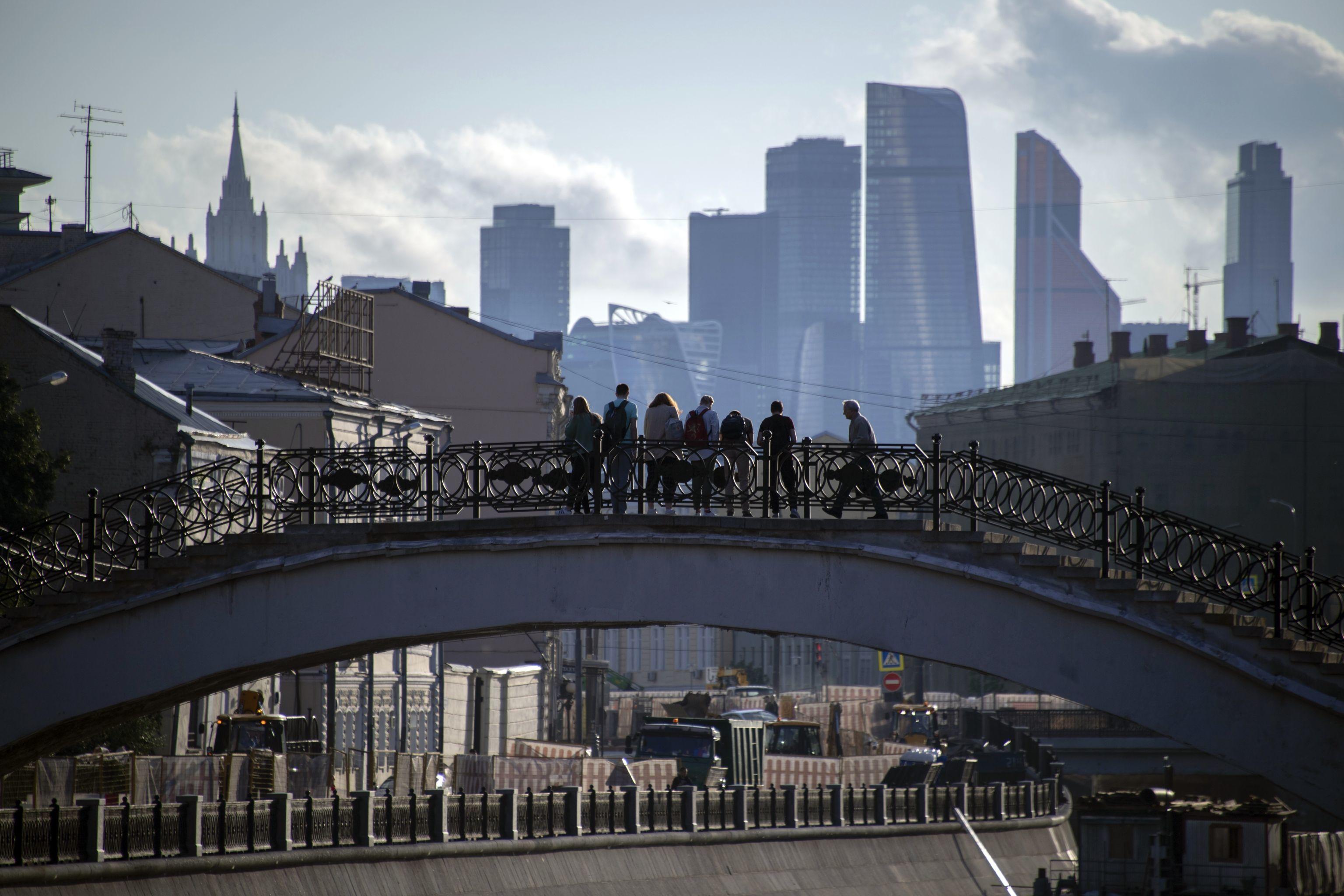 Il Ponte Sadovnichesky a Mosca