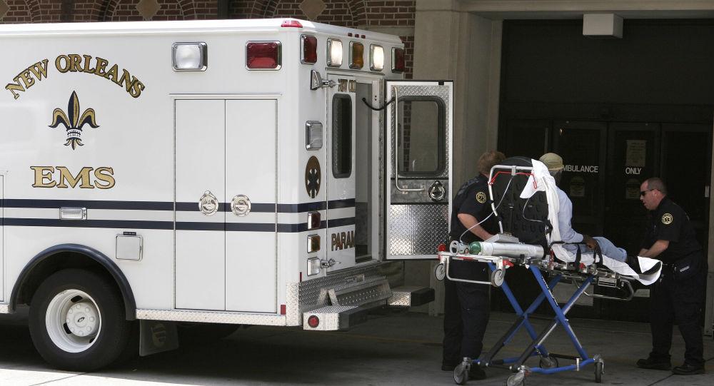Ambulanza a New Orleans