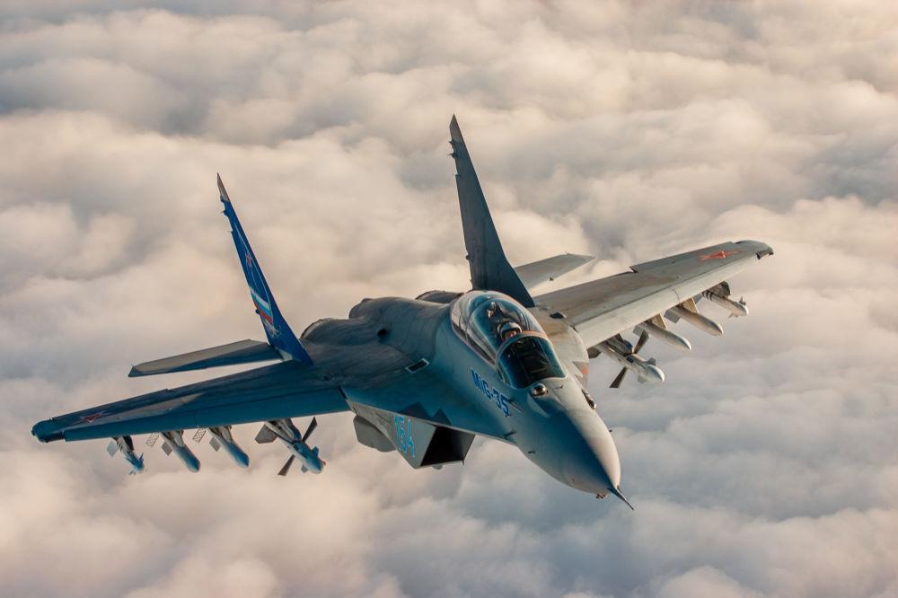 Il MiG-35 è l'ultima versione di produzione del caccia russo MiG-29