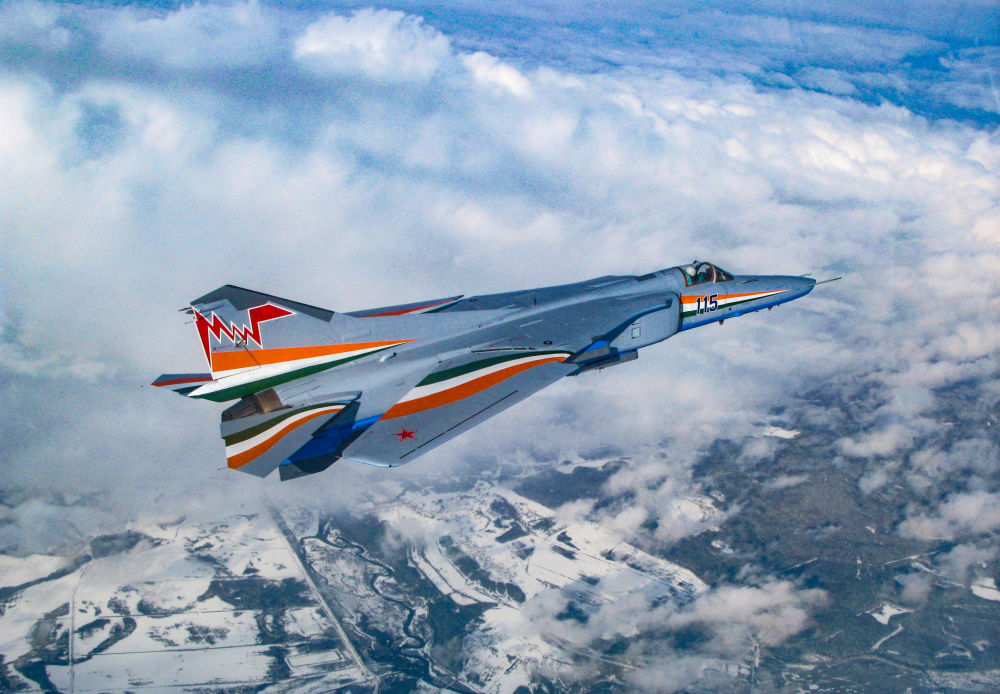 Il cacciabombardiere russo MiG-27M