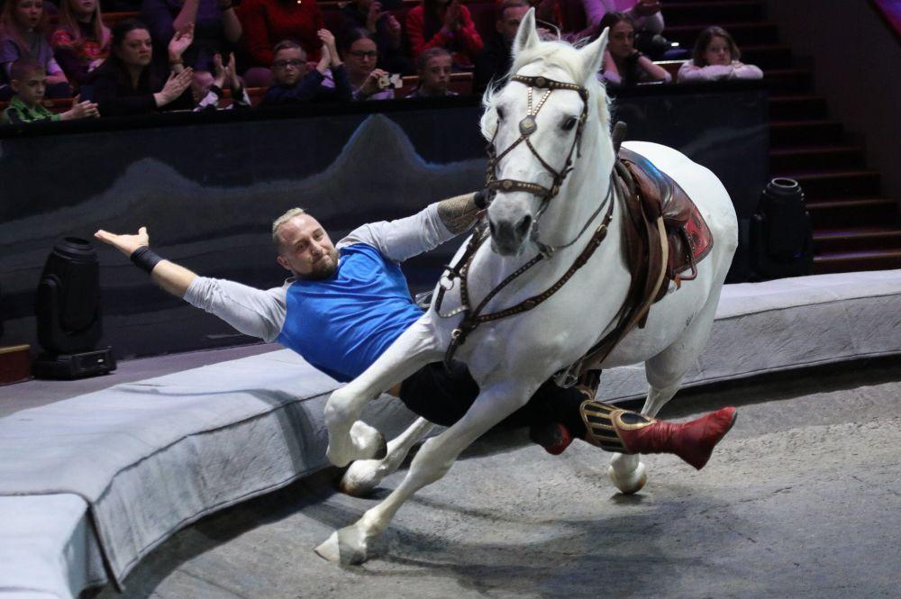La struttura che ospita le performance degli artisti circensi nel Gran Circo Statale di Mosca è il più grande padiglione da circo del mondo