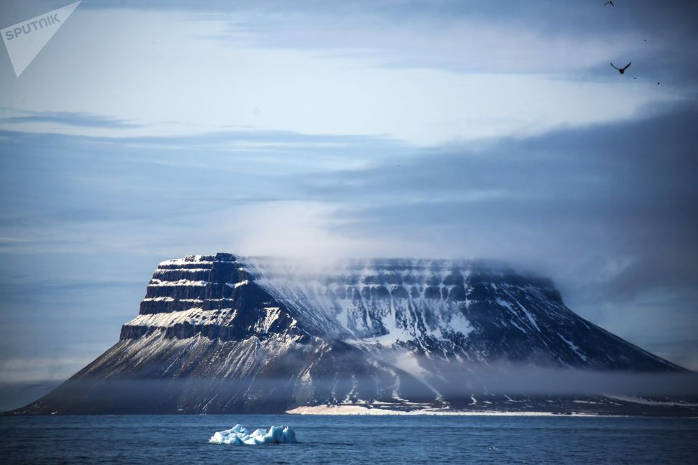 L'archipelago artico della Terra di Francesco-Giuseppe.