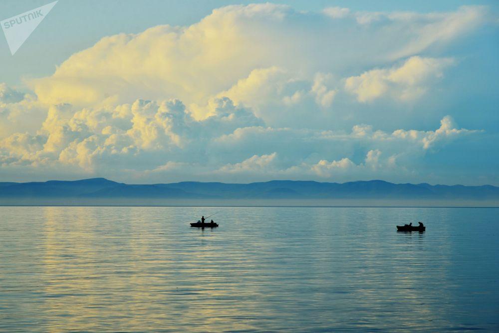 Il lago Baikal.