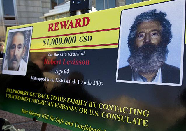 Manifesto su agente Fbi scomparso Robert Levinson