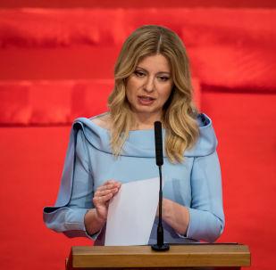 L'avvocatessa anti-corruzione Zuzana Caputova è diventata la prima presidente donna della Slovacchia, il 15 giugno 2019