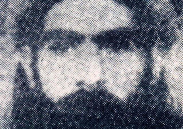 La foto presunta di Mullah Omar, il leader supremo dei talebani in Afghanistan.