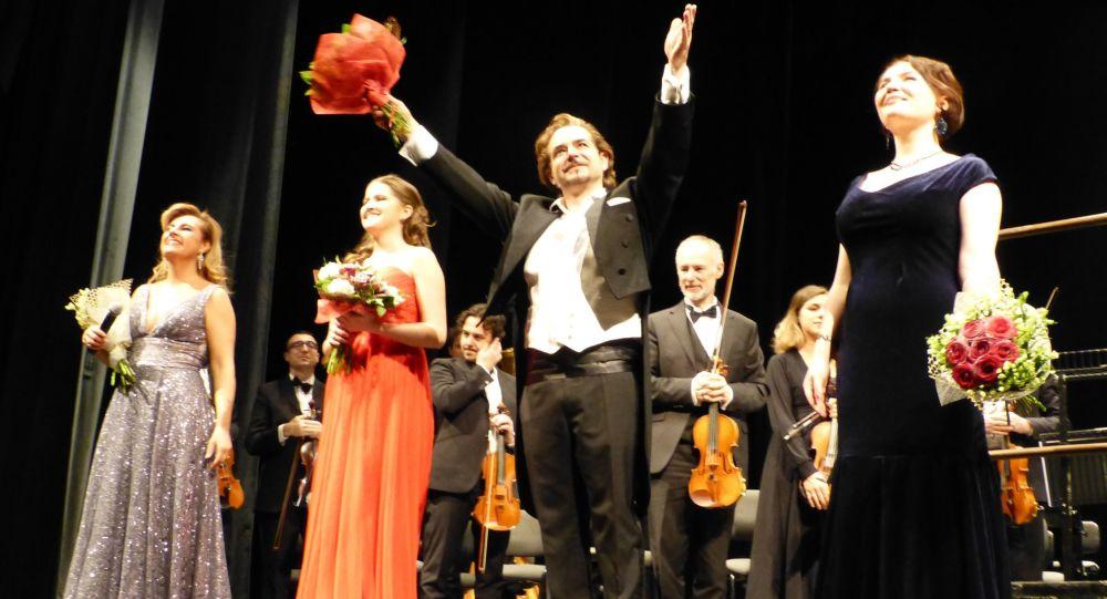 Federica Morello, Violetta Vassileva, Cristian Ricci, Polina Kumylganova © Eliseo Bertolasi