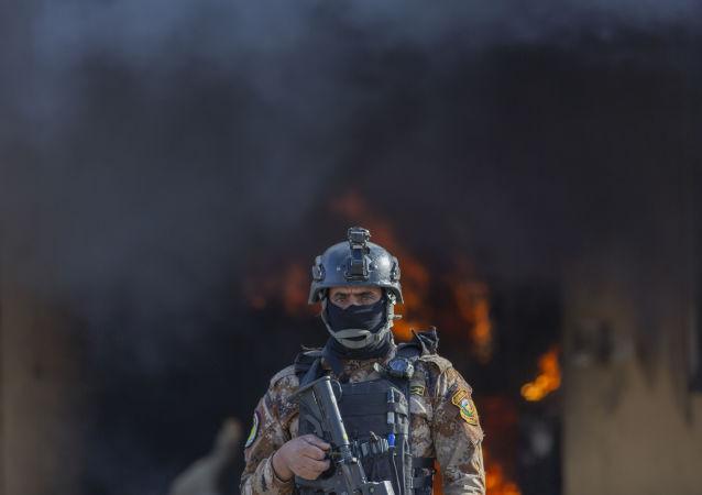 Fumo vicino Ambasciata Usa in Iraq