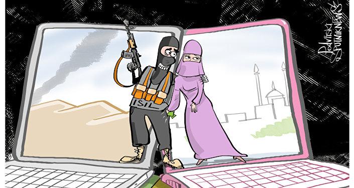 Ragazze cecene hanno truffato predicatori di ISIS