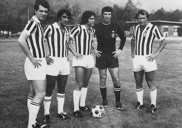 Juventus negli anni '70, Bettega, Anastasi, Causio, Zoff e Altafini