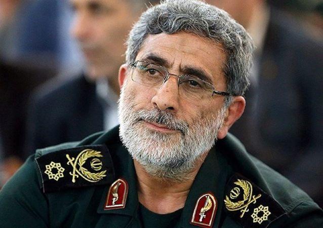 Il generale Esmail Ghaani, il nuovo comandante delle Quds Force