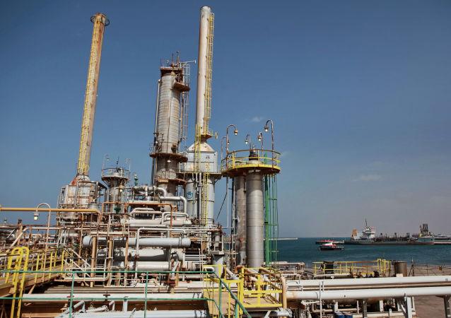 Impianto petrolifero in Libia