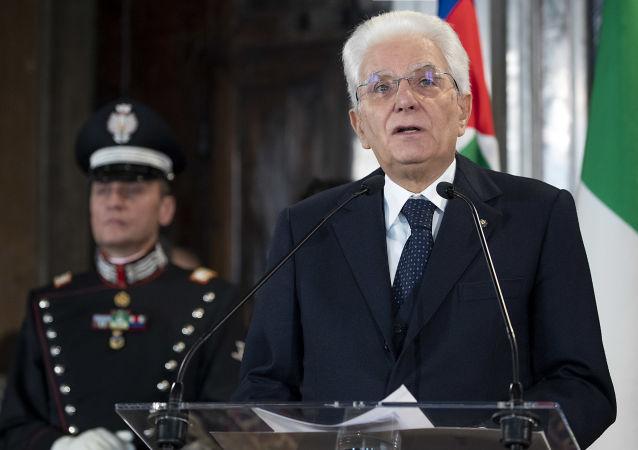 """Il Presidente Sergio Mattarella in occasione della celebrazione del """"Giorno della Memoria"""""""
