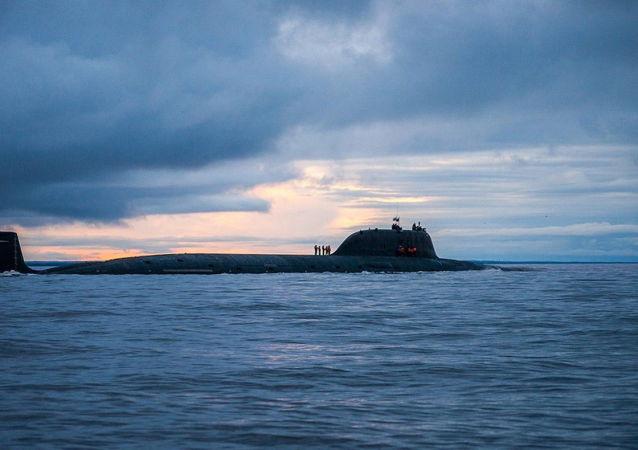 Sottomarino missilistico russo Severodvinsk (foto d'archivio)