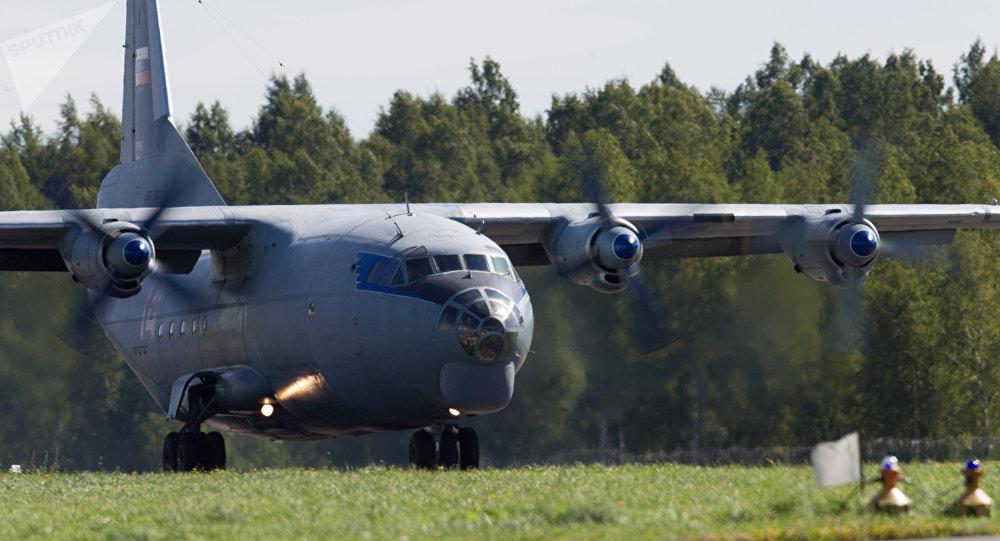 Un Antonov-12 dell'aeronautica russa