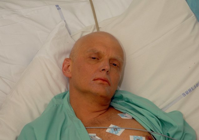 Alexander Litvinenko is  University College Hospital a Londra